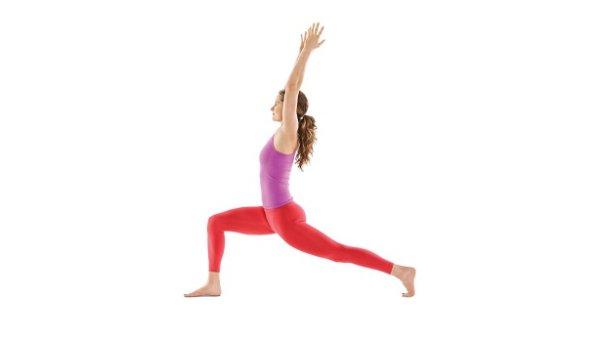 Crescent Pose - Tư thế tập Yoga