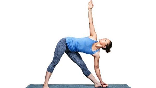 Utthita Trikonasana - Tập Yoga