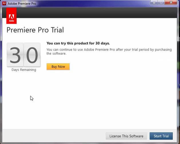 adobe premiere pro cs6 software buy