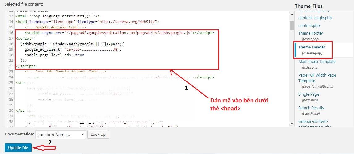 Đăng ký Google Adsense content cho Website thành công ⋆ Tin Tran